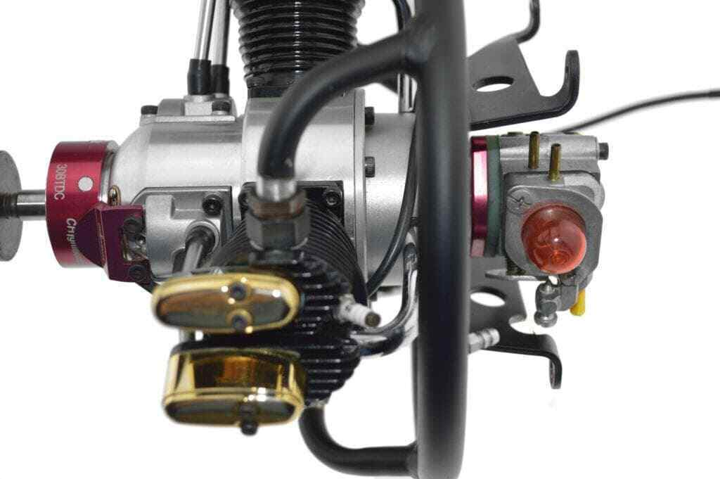 Saito FA170 3-Cylinder Radial SAIE170R3, Full Gasoline CH Ignitions CDI Conve...