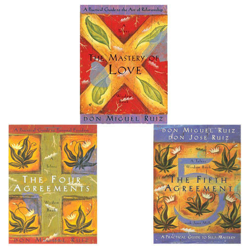 Don Miguel Ruiz Toltec Wisdom Series Collection The Four Agreements