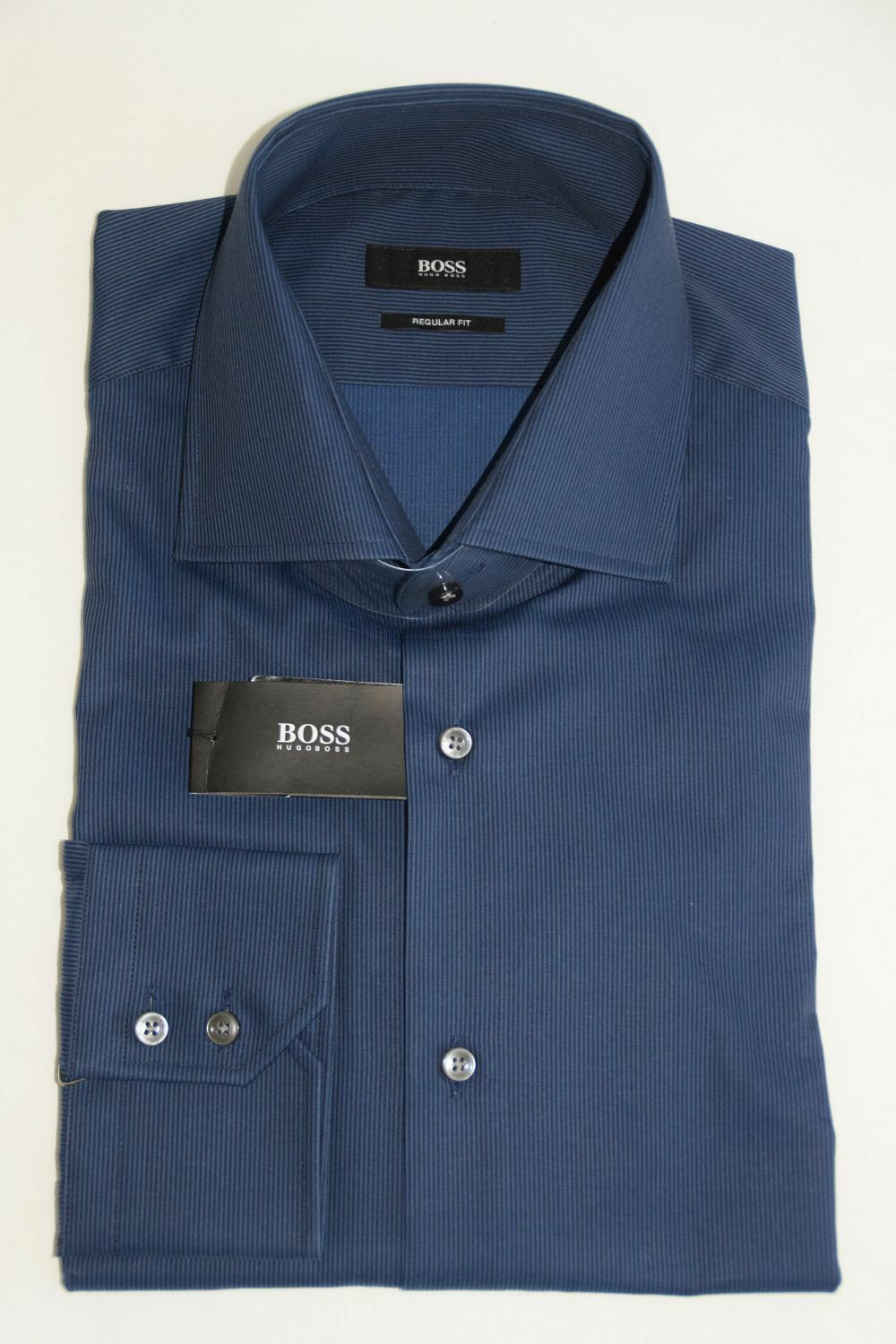 HUGO BOSS BUSINESSHEMD, Mod. Gerald, Gr. 41, Regular Fit, Bright Blau