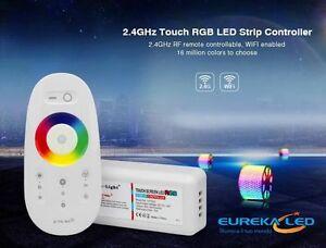 TELECOMANDO TOUCH CONTROLLER LED RGB CON CENTRALINA STRIP 12V/24 UNIVERSALE 0694
