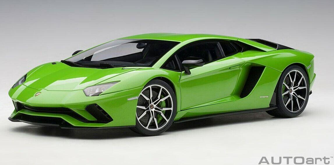 79133 AUTOart 1 18 Lamborghini Aventador S Pearl verde