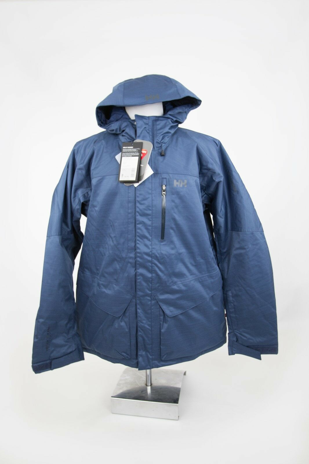 HELLY HANSEN Mens Navy  Clandestine RECCO ARS SKI Coat Size Small .99 OFFER  come to choose your own sports style