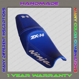 CUSTOM-Seat-Cover-KAWASAKI-NINJA-ZX-14-ZZR1400-06-11-1-gen-blue-white
