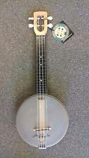 Magic Fluke M80W Firefly Banjo-Ukulele, USA made, MAPLE open back body, soprano
