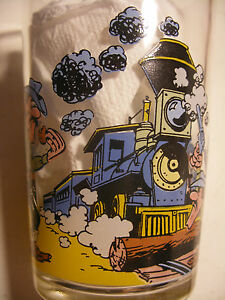 Amora-Collection-LUCKY-LUKE-verre-a-moutarde-N-4-French-Drinking-Glass-1996