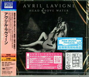 AVRIL-LAVIGNE-HEAD-ABOVE-WATER-JAPAN-BLU-SPEC-CD2-BONUS-TRACK-Ltd-Ed-F30