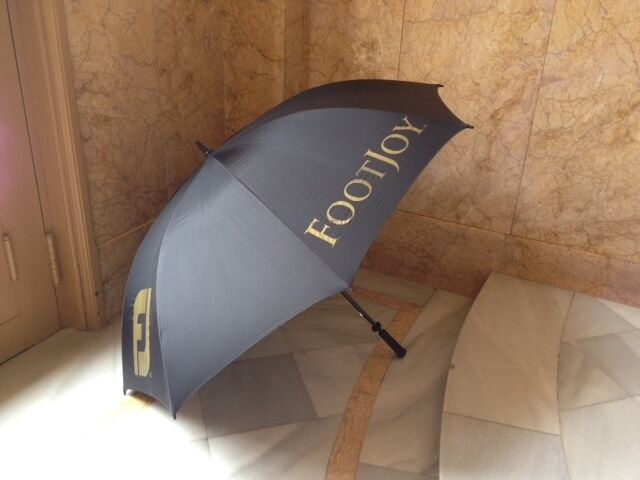 Used - Umbrella golf FOOTJOY - Paragüas de golf - FOOTJOY Long 107 cm    diameter 147 cm abe979 2322f982f91