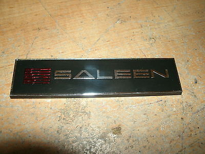 2005 2006 2007 2008 2009 SALEEN FORD MUSTANG S281 GRILL GRILLE EMBLEM NEW
