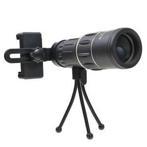 2018-New-Waterproof-40X60-High-Definition-Monocular-Telescope-Bak4-Prism-Black
