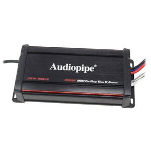 Audiopipe-Powersports-Waterproof-1000W-2-Ch-Micro-Amp-RZR-Motorcycle-UTV-Marine