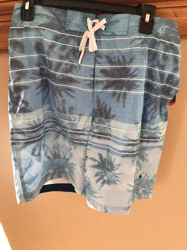 New With Tags Speedo Men's Swim Trunks Size Small Ocean Breeze Image