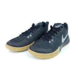 2b68b98b6eac Nike Zoom Live II Mens Basketball Shoes Black Gray Gum AH7566 001 ...