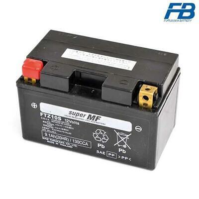 12V//8,6AH Batterie YUASA YTZ10S Ma/ße: 150x87x93 f/ür KTM Supermoto 640 LC4 Baujahr 2005