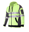 Hi-Vis-Jacket-Hoodie-Jumper-3M-Reflective-Fleece-Zip-AS-NZS-1906-4-4602-1-2011 thumbnail 3