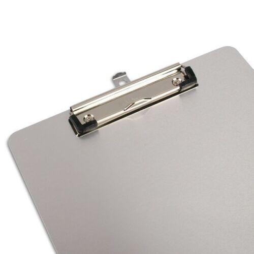 Schule magnetisch haftend Büro Klemmbrett//Schreibplatte Aluminium A4 Deko