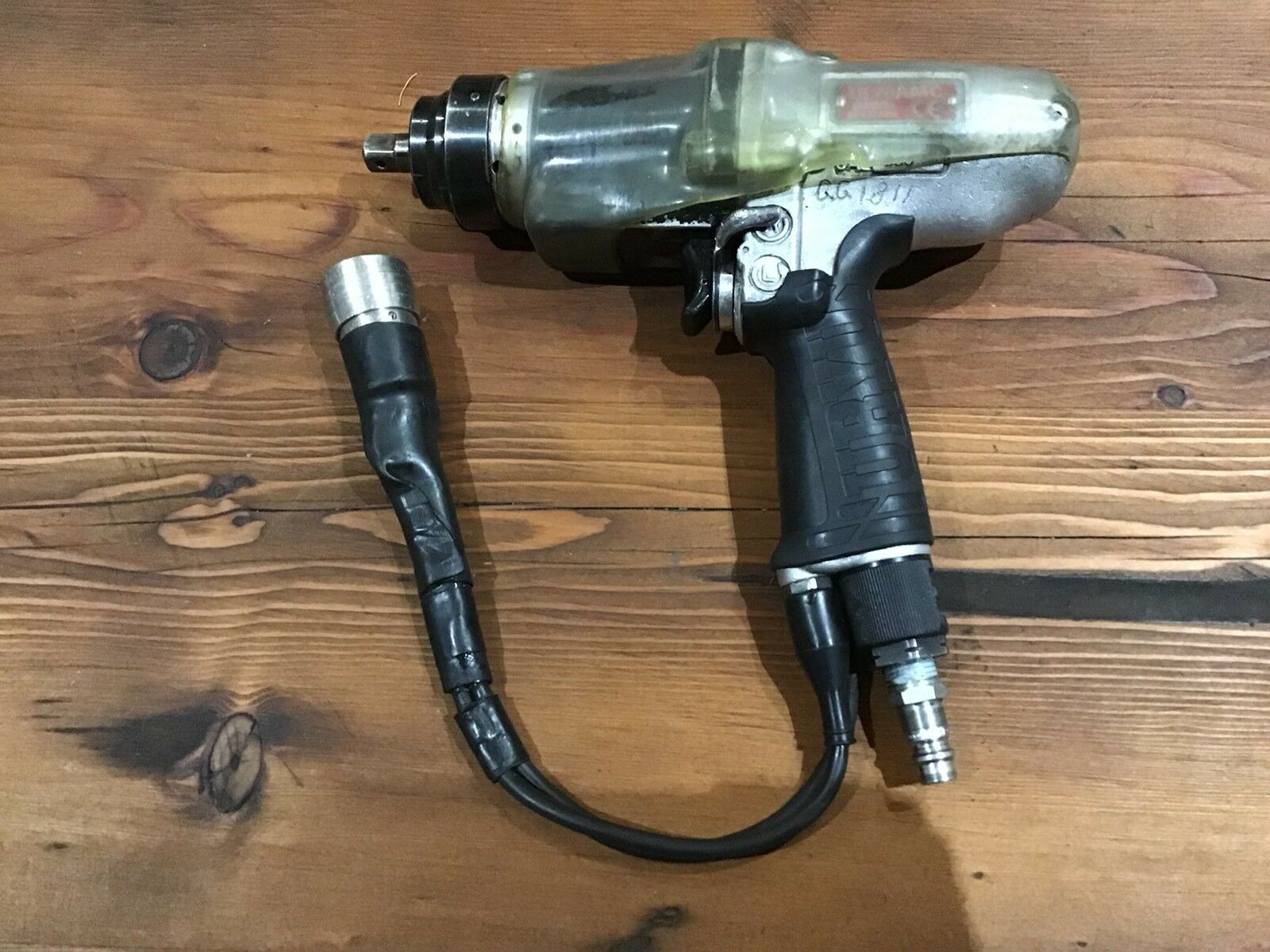 Uryu UL70AMC, 3/8 Drive, Control Pulse Tool / Pneumatic / Air, made in Japan