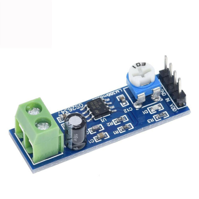 HIFI Audio Amplification 200Times Gain Power AMP LM386 Amplifier Board Module xx
