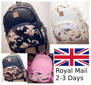 Girls-School-Bags-Travel-Cute-Backpack-Satchel-Shoulder-Rucksack-New