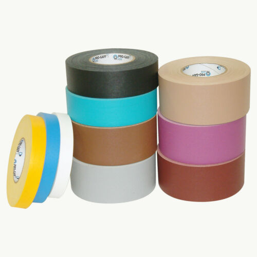 3 in Pro Tapes Pro-Gaff Gaffers Tape x 55 yds. Tan