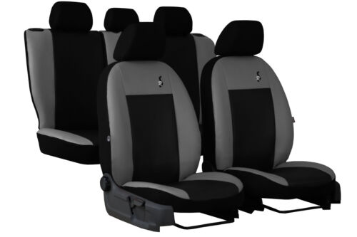 """FORD MONDEO TITANIUM Mk5 2014 ONWARDS ECO LEATHER /""""ROAD/"""" SEAT COVERS TAILORED"""