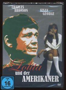 DVD LOLITA UND DER AMERIKANER - CHARLES BRONSON + SUSAN GEORGE *** NEU ***