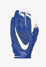 Nike Vapor Knit Football Gloves Adult Large GF0386-411 Royal Blue White NEW $65