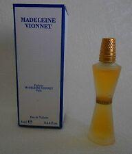 Miniature de parfum Madeleine Vionnet  Flacon Givré EDT 4 ml