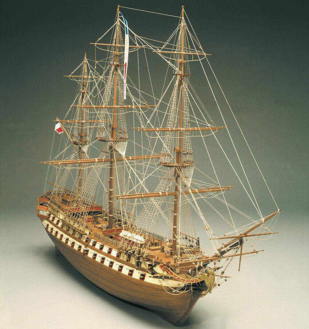 Mantua modellllerler Le Superbe 74 Gun Franska stridande Ship 1708 1 75 Statisk modellllerler Kit