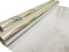 INERRA® Plain Clear Cellophane Roll - Gift Wrap Florist -Thick 80cm Film
