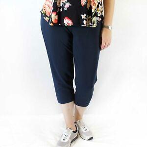 J Jill Plus Size White Slim Leg Stretch Waist Pants 2X
