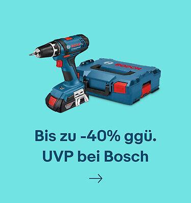 Bis zu -40% ggü. UVP bei Bosch