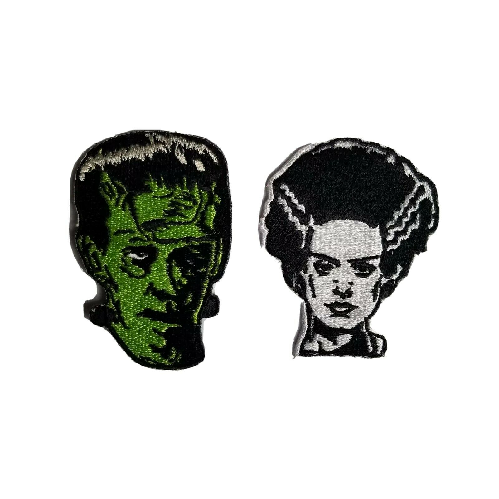 Illuminart Lighted Art Canvas Classic Horror Print Dracula Bride of Frankenstein