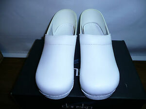Dansko-Women-039-s-Professional-Box-Leather-Clog-White-42-EU-US-Women-039-s-11-5-12-N