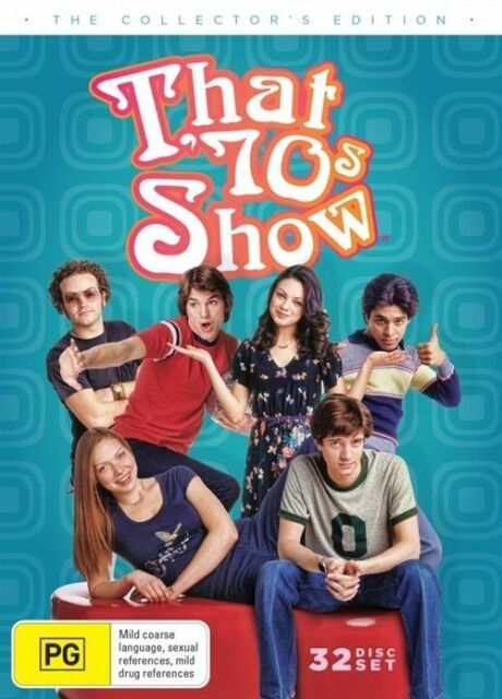That 70's Show :Collector's Edition (DVD, 32 Disc Set ) LIKE NEW REGION 4