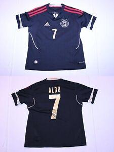ae223994849 Youth Mexico  7 Aldo Leao YS Soccer Futbol Jersey (Black) Adidas ...