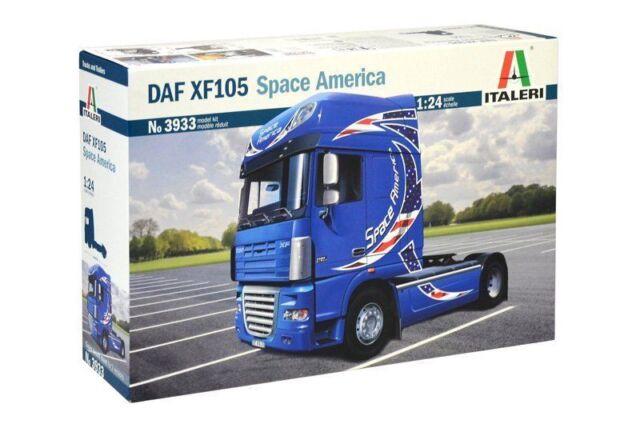 Italeri DAF XF105 XF 105 Space América Camión 1:24 Kit Construcción Modelo 3933