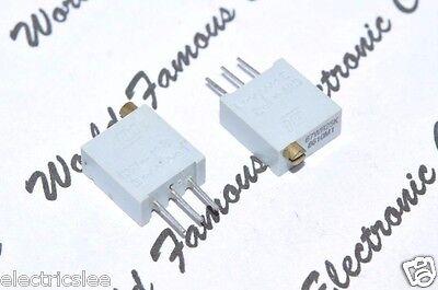 BI technologies 100R 25-Turns Variable Potentiometer Trimmer 68WR100 2pcs