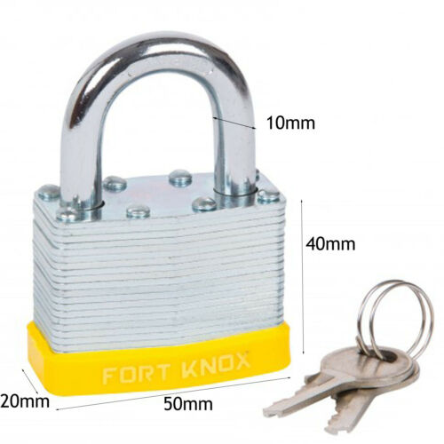 10mm 3ft Steel Security Motorbike Motorcycle Chain Lock Oxford /& Padlock x 2