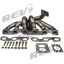 REV9 HP SERIES RB26 RB26DETT EQUAL LENGTH TOP MOUNT TURBO MANIFOLD T4 STAINLESS
