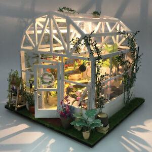 Miniature Dollhouse-DIY Wooden House Kit-3D House Puzzle Model Toy