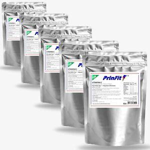 5 x 1 kg - Vitamina C Polvere Pura - E300 Acido Ascorbico Integratore Vit C 1000