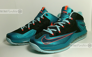 quite nice c3089 8f130 Image is loading NIKE-AIR-LEBRON-XI-LOW-SIZE-11-5-