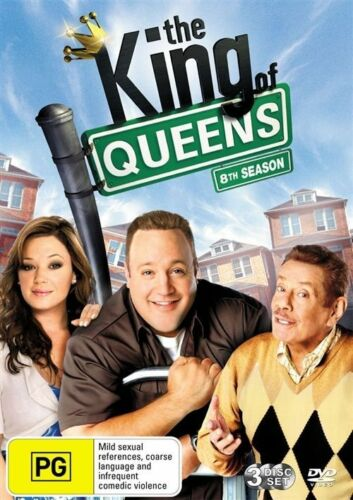 1 of 1 - The King of Queens : Season 8 (DVD, 2010, 3-Disc Set)