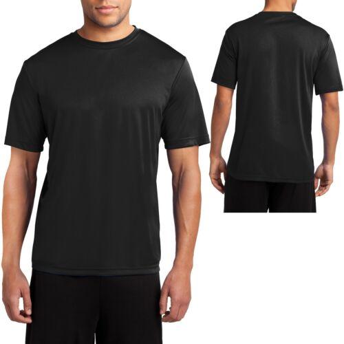 L 2XL 4XL NEW XL M Mens Dry Fit T-Shirt Workout Moisture Wicking Tee S 3XL