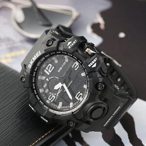 1155-Skmei-Waterproof-Dual-Time-Digital-Sports-Watch-Shock-Resistant-PU-Strap-F