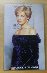 #14 1997 Princess of Wales Lady Diana Miniature Stamp MNH Niger