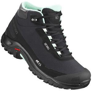 Salomon Shelter CSWP Damen Winterschuhe Boots Winter Schuhe Wasserdicht