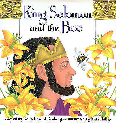 1 of 1 - King Solomon and the Bee-ExLibrary