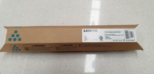 Genuine Lanier 841525 Cyan Toner LD525C MP C2030 C2050 C2051 C2530 C2550 C2551