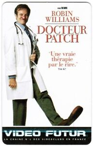 N-89-VIDEO-FUTUR-CARTE-COLLECTOR-DOCTEUR-PATCH-ETAT-LUXE